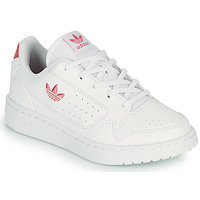 Shoes Children Low top trainers adidas Originals NY 92 C White / Pink