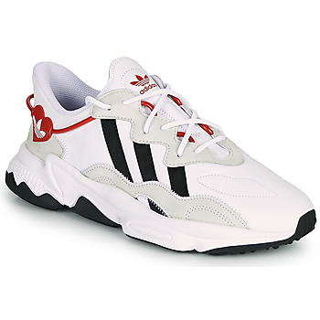 Shoes Women Low top trainers adidas Originals OZWEEGO White / Red