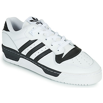 Shoes Low top trainers adidas Originals RIVALRY LOW White / Black