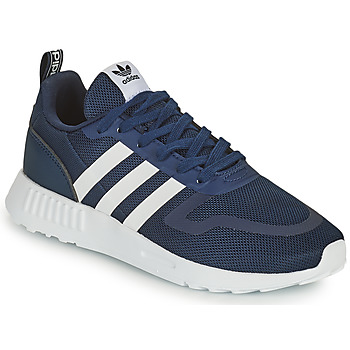 Shoes Children Low top trainers adidas Originals SMOOTH RUNNER C Marine / White