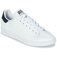 Shoes Low top trainers adidas Originals STAN SMITH SUSTAINABLE White / Marine