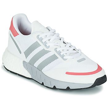 Shoes Women Low top trainers adidas Originals ZX 1K BOOST W White / Pink