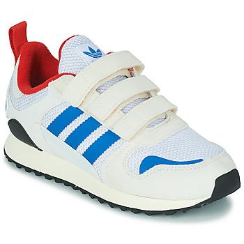 Shoes Children Low top trainers adidas Originals ZX 700 HD CF C Beige / Blue