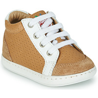 Shoes Boy Hi top trainers Shoo Pom BOUBA ZIP BOX Brown
