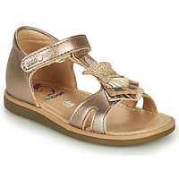 Shoes Girl Sandals Shoo Pom TITY KID Gold