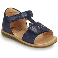 Shoes Girl Sandals Shoo Pom TITY MIAOU Blue