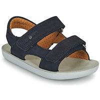 Shoes Boy Sandals Shoo Pom GOA BOY SCRATCH Blue