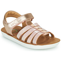 Shoes Girl Sandals Shoo Pom GOA SPART Gold