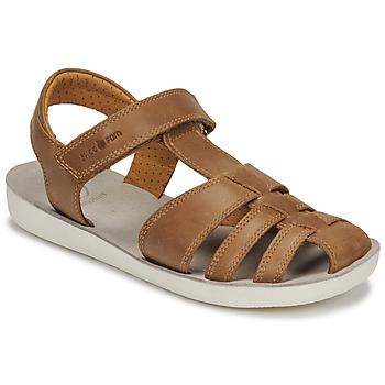 Shoes Boy Sandals Shoo Pom GOA TONTON Brown