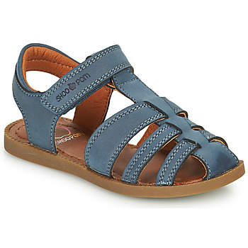 Shoes Boy Sandals Shoo Pom SOLAR TONTON Blue