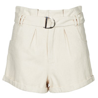 Clothing Women Shorts / Bermudas Betty London ODILE Beige