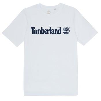 Clothing Boy Short-sleeved t-shirts Timberland FONTANA White