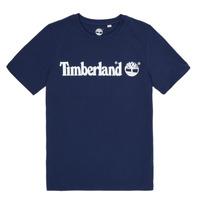 Clothing Boy Short-sleeved t-shirts Timberland VUILL Marine
