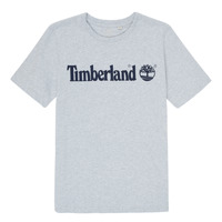 Clothing Boy Short-sleeved t-shirts Timberland NINNO Grey