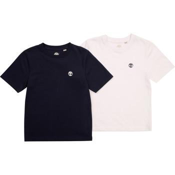 Clothing Boy Short-sleeved t-shirts Timberland FONNO Multicolour