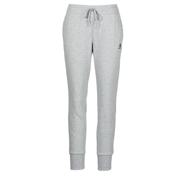 Clothing Women Tracksuit bottoms Converse WOMENS EMBROIDERED STAR CHEVRON PANT FT Grey
