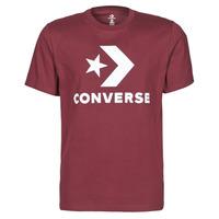 Clothing Men Short-sleeved t-shirts Converse STAR CHEVRON TEE Bordeaux
