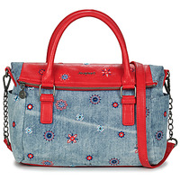 Bags Women Handbags Desigual BOLS_JULY DENIM LOVERTY Carmine