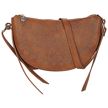 Bags Women Small shoulder bags Desigual BOLS_TACHAS KIAMA MINI Crudo / Beige