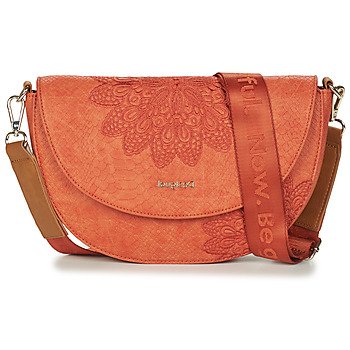Bags Women Small shoulder bags Desigual BOLS_SUMMER AQUILES BREMEN  naranja / Earth