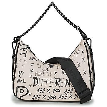 Bags Women Shoulder bags Desigual BOLS_HANSMADE MEDLEY Crudo