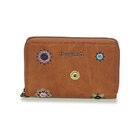 Bags Women Wallets Desigual MONE_JULY DENIM_MARISA Beige