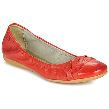 Shoes Women Flat shoes Dream in Green NERLINGO Red