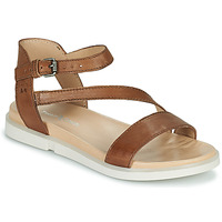 Shoes Women Sandals Dream in Green OURY Brown