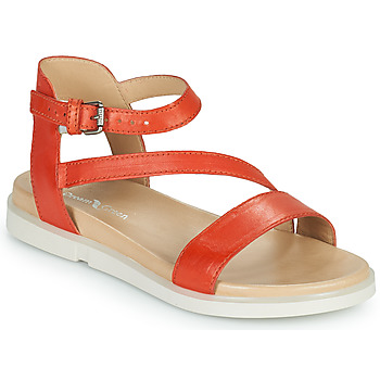 Shoes Women Sandals Dream in Green OURY Orange