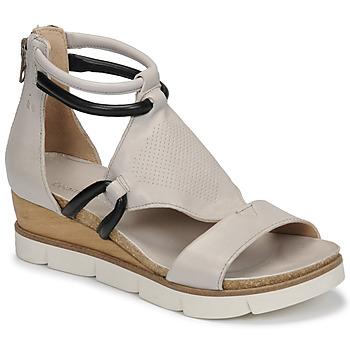 Shoes Women Sandals Dream in Green LIRABIEN Silver