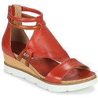 Shoes Women Sandals Dream in Green LIRABIEN Orange
