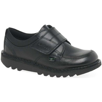 Shoes Boy Derby Shoes Kickers Kick Scuff Lo Boys Junior School Shoes black