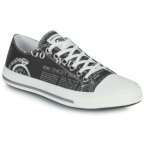 Shoes Women Low top trainers John Galliano ALEXA Black