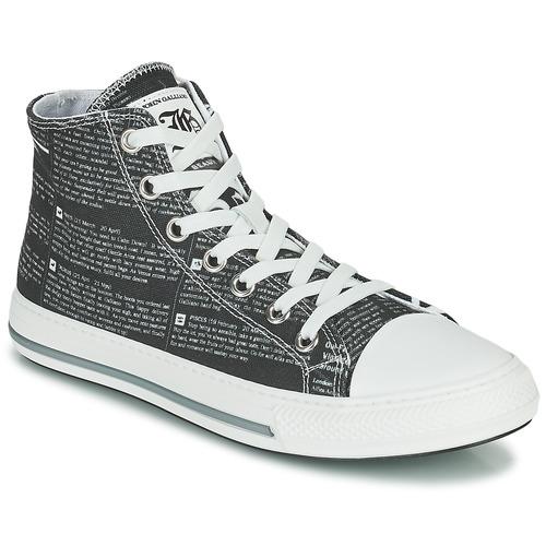 Shoes Women Hi top trainers John Galliano GERMAINE Black