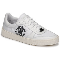 Shoes Men Low top trainers Roberto Cavalli GEL White
