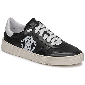 Shoes Men Low top trainers Roberto Cavalli GEL Black