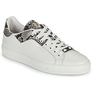 Shoes Men Low top trainers Roberto Cavalli KALE White