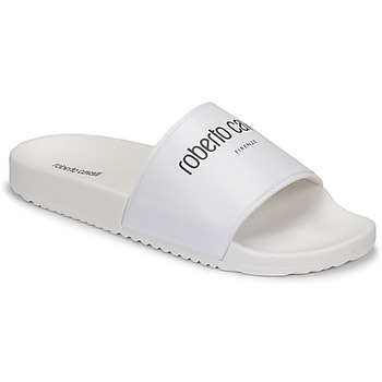 Shoes Men Sliders Roberto Cavalli CIABATTA White
