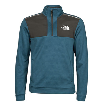 Clothing Men Fleeces The North Face MA 1/2 ZIP Blue