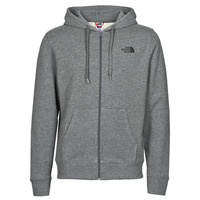 Clothing Men Sweaters The North Face OPEN GATE FZHOOD LIGHT Grey