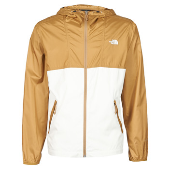 Clothing Men Macs The North Face CYCLONE JACKET UTILITY Brown / White