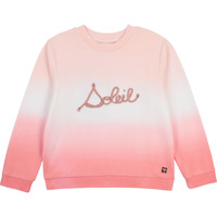Clothing Girl Sweaters Carrément Beau Y15373-N44 White / Pink
