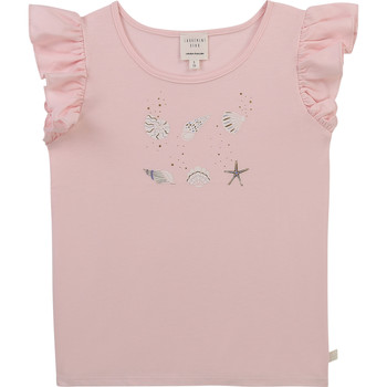 Clothing Girl Short-sleeved t-shirts Carrément Beau Y15378-44L Pink