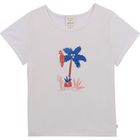 Clothing Girl Short-sleeved t-shirts Carrément Beau Y15383-10B White