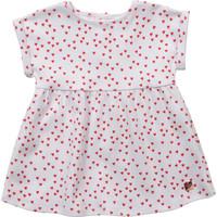 Clothing Girl Short Dresses Carrément Beau Y92119-10B White