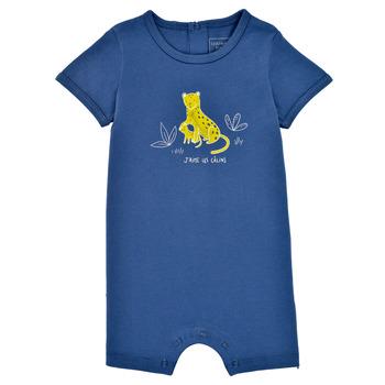 Clothing Boy Jumpsuits / Dungarees Carrément Beau Y94205-827 Blue