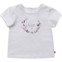 Clothing Girl Short-sleeved t-shirts Carrément Beau Y95270-10B White