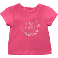 Clothing Girl Short-sleeved t-shirts Carrément Beau Y95270-46C Pink