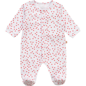 Clothing Girl Sleepsuits Carrément Beau Y97101-10B White