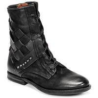 Shoes Women Mid boots Airstep / A.S.98 ZEPORT TRESSE Black